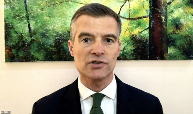 Mark Harper, CRG chairman, said: 'Britain's hospitality industry has had one of the toughest years on record and it's vital we do everything we can to get them open in a Covid-secure way that allows them to protect jobs and operate viably'