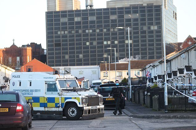 The Police Service of Northern Ireland (PSNI) along with the Northern Ireland Ambulance Service were called to the Hopewell Crescent area of Belfast last night after the man was shot