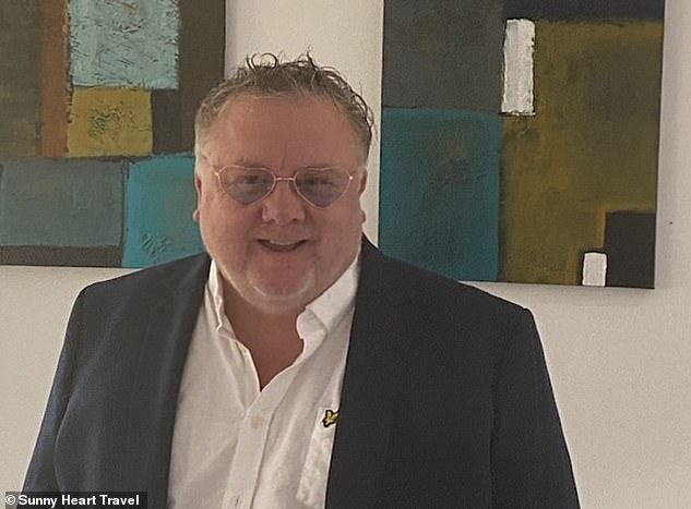 Launch: Steve Bentzen, pictured, is the boss of the newly formed Sunny Heart Travel group