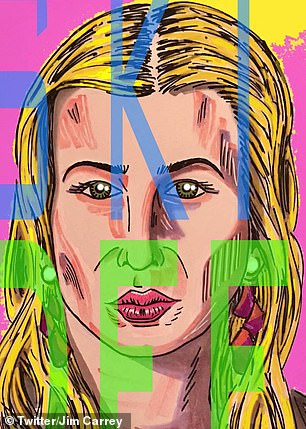 Carrey has also painted unflattering pictures of  Ivanka Trump