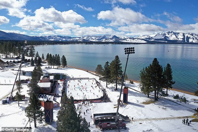 Normally the NHL hosts one or two games during an outdoor event in January known as the Winter Classic. This year, however, with the event postponed and attendance limited by the pandemic, the league opted to forgo a traditional outdoor arena, and instead chose to hose a pair of games on a lakeside town in Nevada