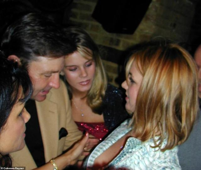 Speaking exclusively to DailyMail.com, Selma said: 'Britney was celebrating her 18th birthday at a basement bar in Greenwich Village called Halo with a group of about 50 people'. She's pictured talking with her father Jamie