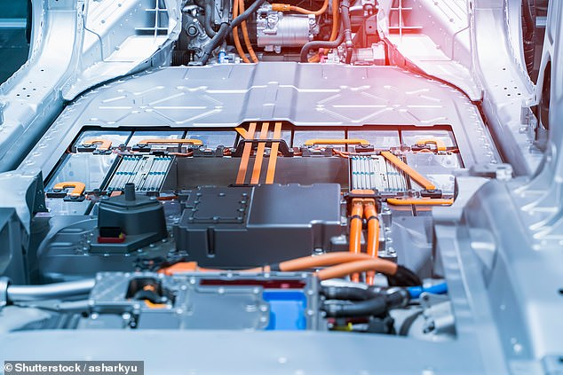 Europe, with its cluster of car manufacturing companies, is set to become the world's largest lithium market, with local supply still fairly limited (Pictured: electric car lithium battery)