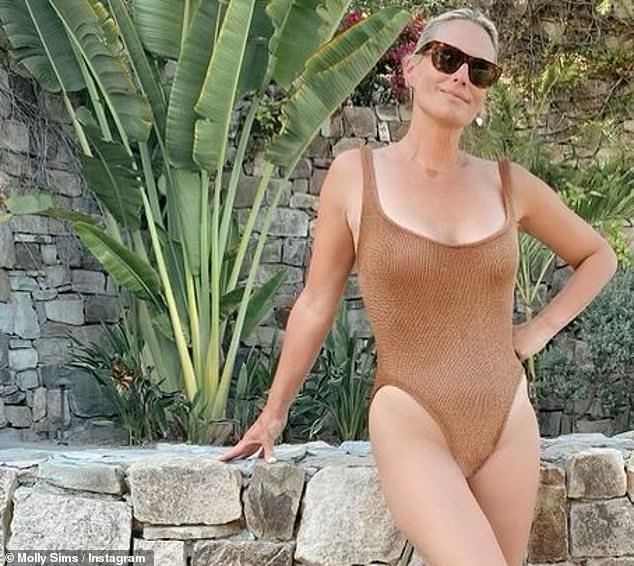 South of the border:In her caption the Vegas actress also said she was in Cabo San Lucas, Baja California Sur