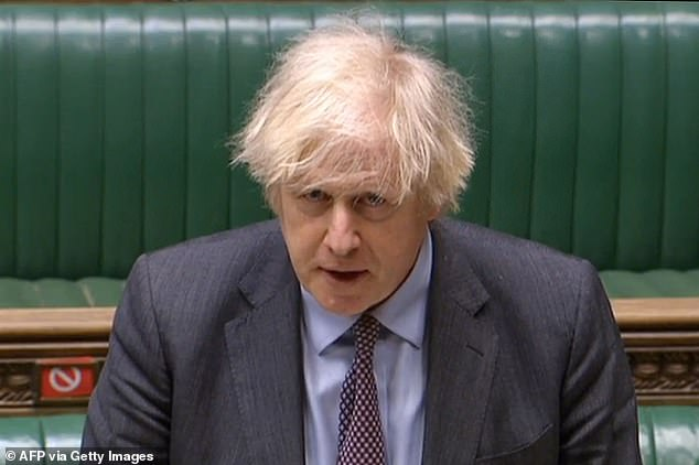 Boris Johnson unveiled his 'roadmap' out of the lockdown in a statement to the Commons this afternoon