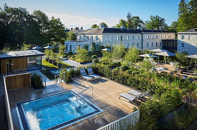 Figures showed thatRudding Park Hotel in Yorkshire was also among the most popular staycation sites in the UK