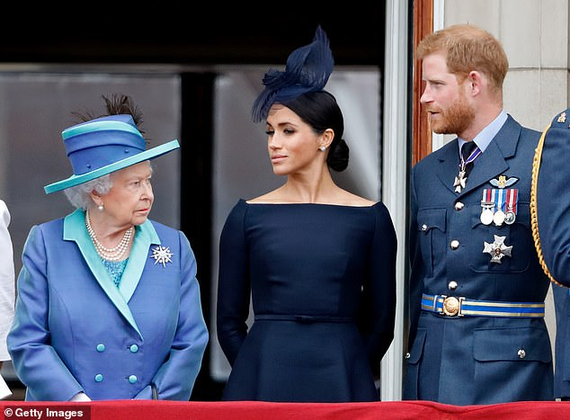 Buckingham Palace announced in a dramatic statement that Harry and Meghan had been stripped of their remaining roles following their move to California.Minutes later, the apparently furious Sussexes issued a stinging rebuke to the Queen, insisting they would still 'live a life of service' despite her decision