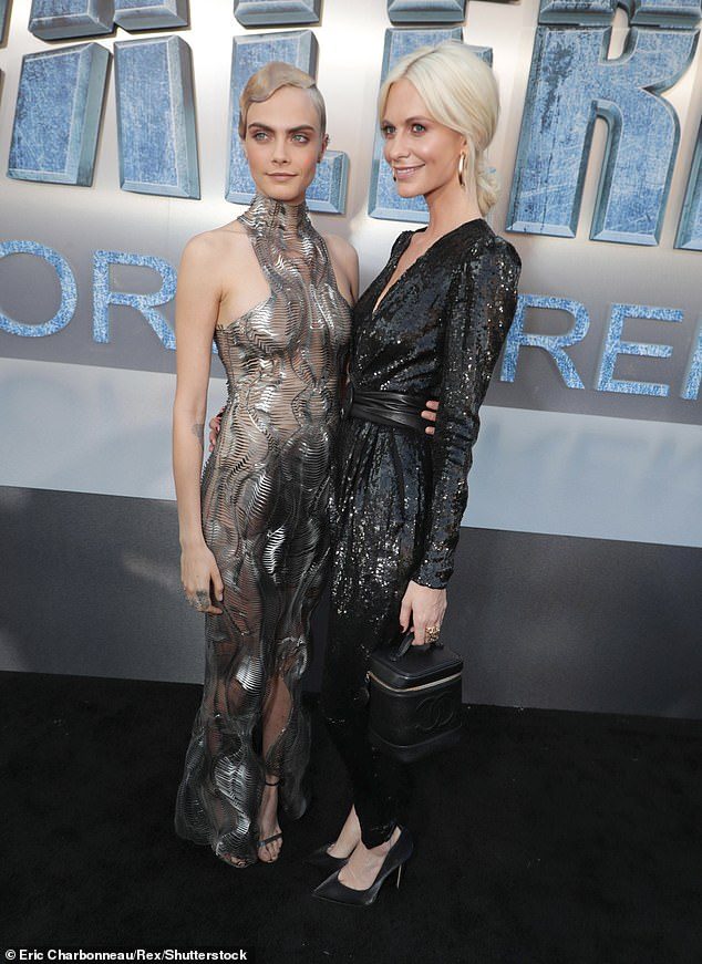 Home: In February, it was reported that she and her model sister Poppy Delevingne had put their gorgeous Hollywood Hills home on the market for $ 3.75 million (pictured in 2017)