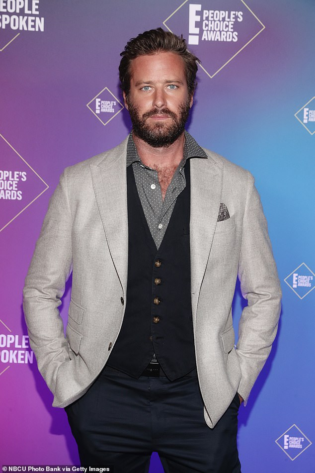 The latest: Armie Hammer's role in the Starz' drama Gaslit will be 'recast,' amid the actor's ongoing alleged scandal over graphic social media communications that came to light. The actor, 34, was snapped last year in LA