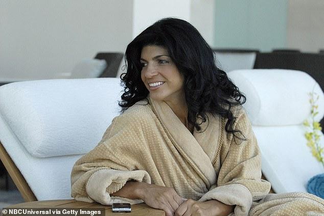 Original cast:Teresa, shown in a season one still, has been on RHONJ since it premiered in May 2009 on Bravo