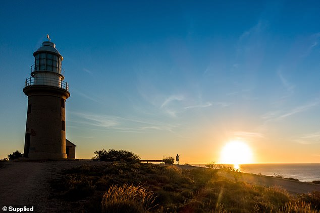 8. Exmouth, Western Australia: Head to the Ningaloo Lighthouse Holiday Park and you'll find breathtaking views