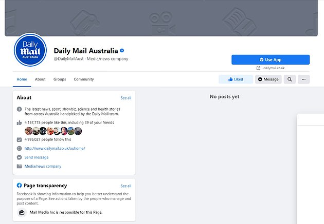 Facebook last week blocked all news content in Australia in protest at the new laws, sparking international outcry and calls for tougher regulations