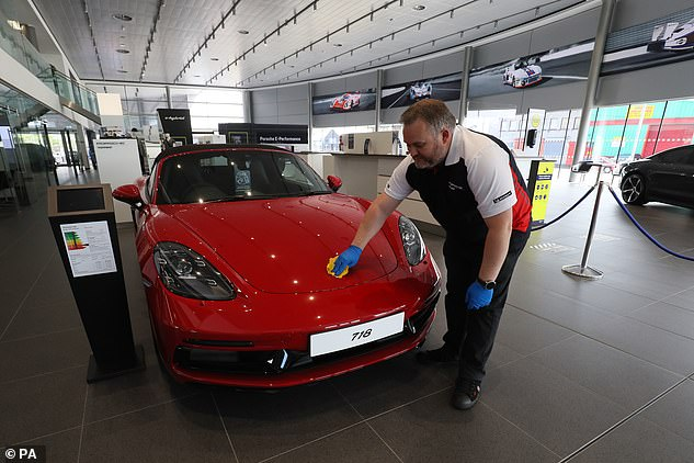 Sales of new cars hit a 28-year low in 2020, which has been described by industry bosses as a 'lost year for automotive'