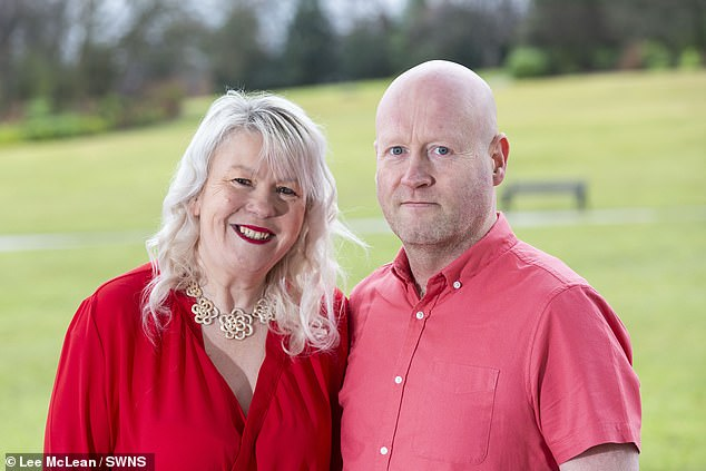 Lisa said she wanted to enjoy herself after overcoming cancer, however 'maybe' they enjoyed themselves 'too much'. Pictured: Lisa and Paul, now