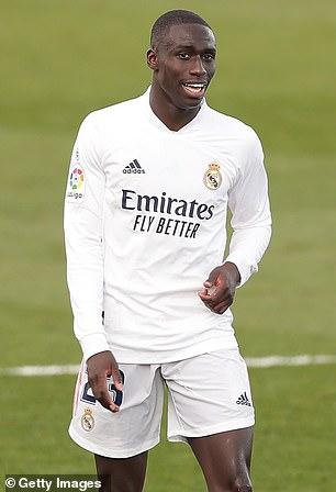 Ferland Mendy gave support to Real Madrid boss Zinedine Zidane
