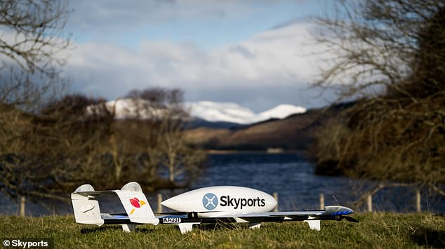 Skyports started a two-week trial of their autonomous delivery scheme in May with support from NHS Highland to serve islands off the west coast of Scotland