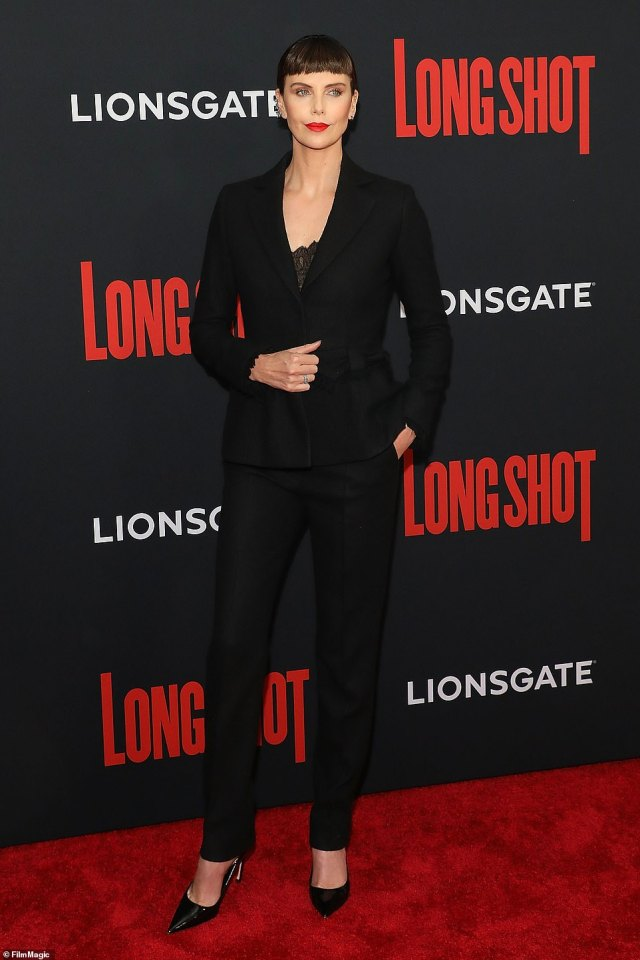 Her new normal:Theron talked about releasing The Old Guard straight to Netflix 'Somehow it was meant to come out in [2020],' Theron says of The Old Guard, which hit Netflix last summer. Seen in 2019