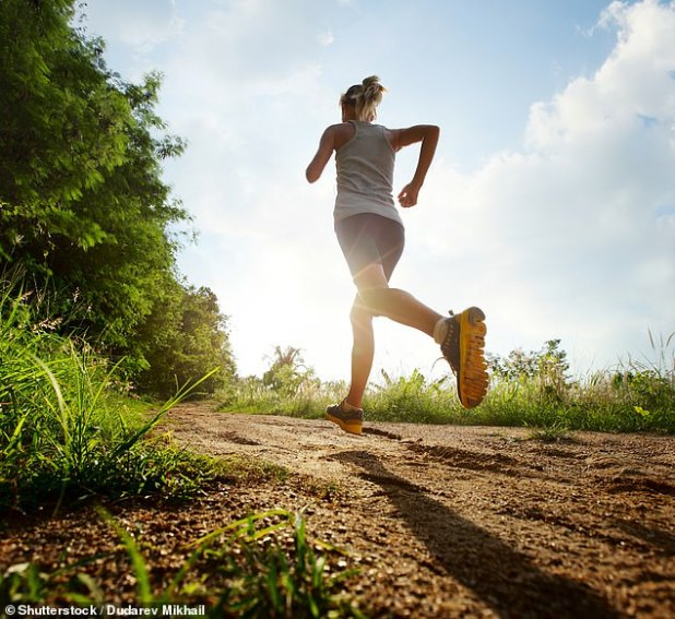 People who got less than two and a half hours of moderate to vigorous exercise per week had higher rates of all three triggers: depression, anxiety, and trouble sleeping (file image)