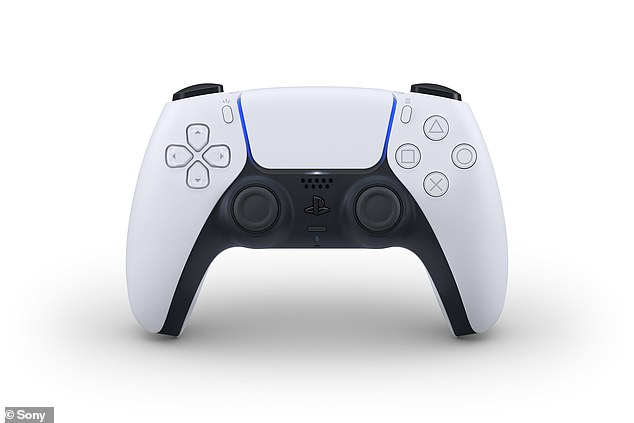 The PlayStation VR (PSVR) will also come with a new controller inspired by the PlayStation 5's Dual Sense (pictured), released last year, and have a single-cord setup