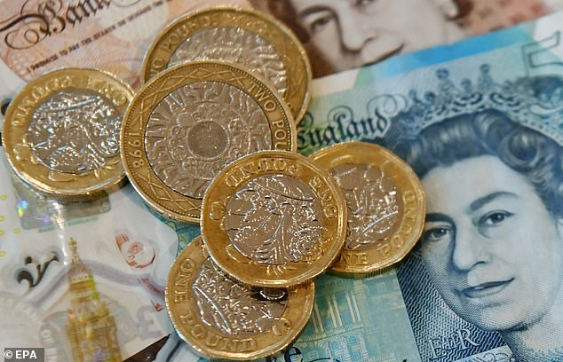 As Goldman Sachs declared the UK economy was 'well positioned for a near-term rebound', the pound rose above $1.41 for the first time since April 2018