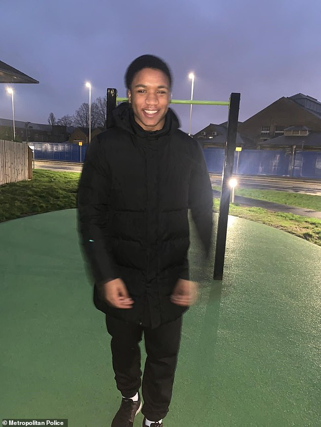 Tyreke Watson, was attacked on West Green Road, Tottenham, around 4pm on Monday, just yards away from where a teenager suffered stab wounds days earlier