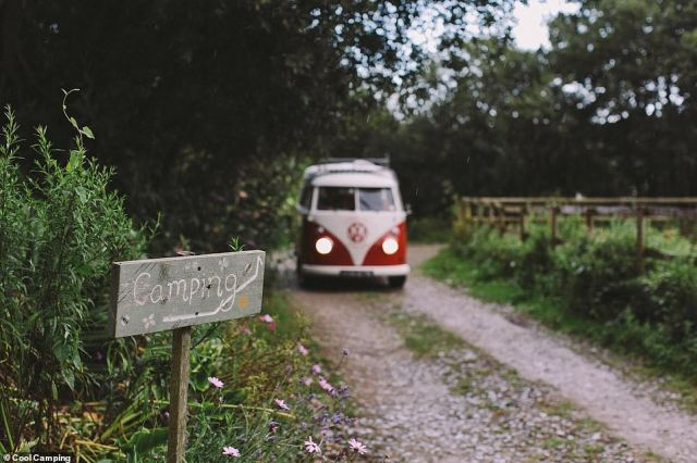 Cool Camping, which runs sites across the UK, saw an instant doubling in website traffic between 3-4pm followed by record numbers in the evening