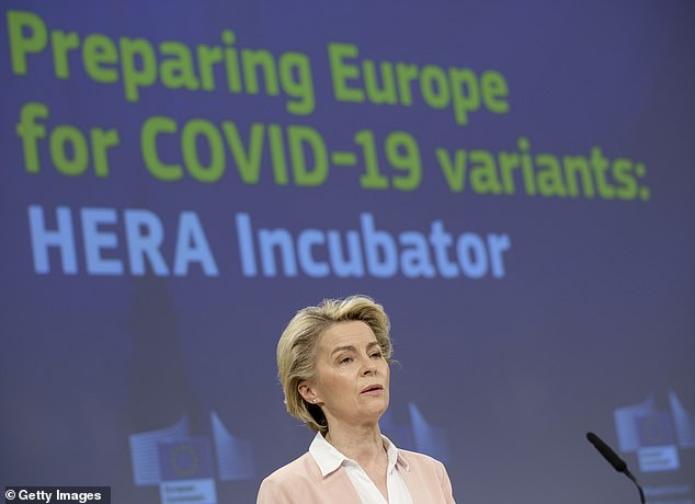 EU officials are working on vaccinating the population before reducing restrictions on non-essential travel