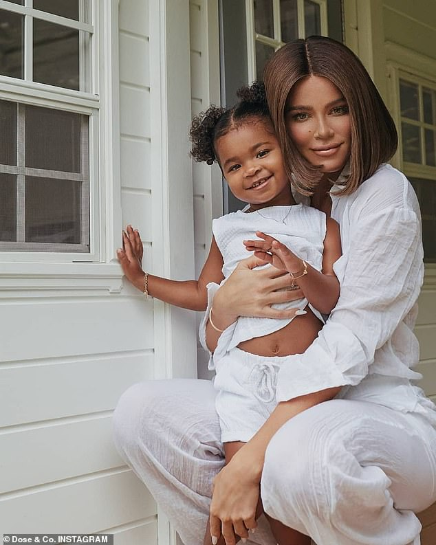 Bi-coastal: As Tristan had signed with the Boston Celtics ahead of the 2020-21 season, Khloe has brought their daughter to the opposite coast so they could spend time together as a family while their home base remains Los Angeles