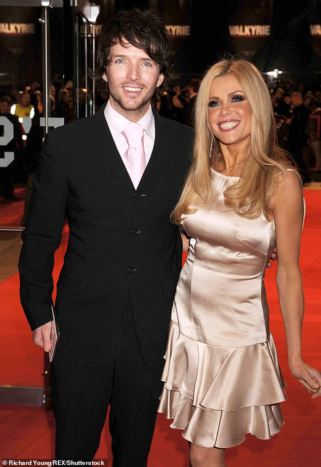 Former lover: The blonde split from ex-husband Wayne Roberts in 2012 following a 14-year intermittent marriage (pictured in 2009)