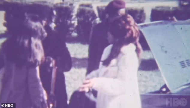 Archival footage:She reflects on memories of her mother from childhood, as footage from her home state of Tennessee soon transform into clips from her early life on stage