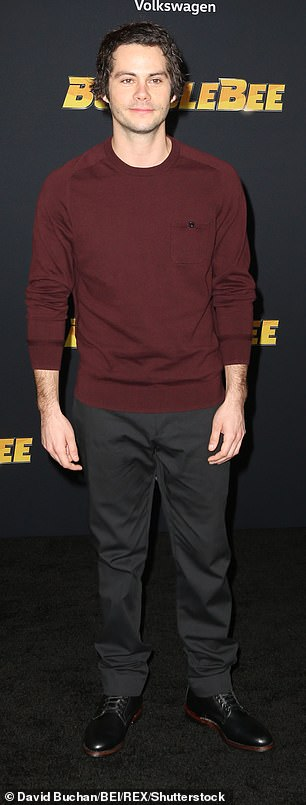 Maze runner star Dylan O'Brien, pictured in December 2018, has been cast in the upcoming crime drama The Outfit