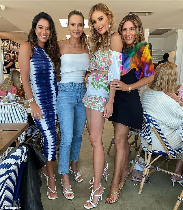 Birthday event: Bec, Kylie, and their close friends Jaggad co-founder Michelle Greene and stylist Lana Wilkinson celebrated their birthdays with a group lunch just weeks ago