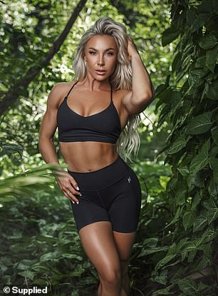 Hattie Boydle (pictured), 32, from Sydney, has won a number of fitness competitions, and said she needs to keep her diet clean but rich in nutrients in order to stay looking her best