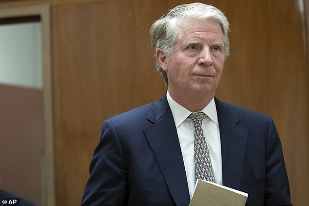 Stepping up investigation: Cy Vance Jr., the Manhattan district attorney has hired a high-profile former prosecutor who just re-interviewed Michael Cohen, Trump's one-time Mr. Fix-it
