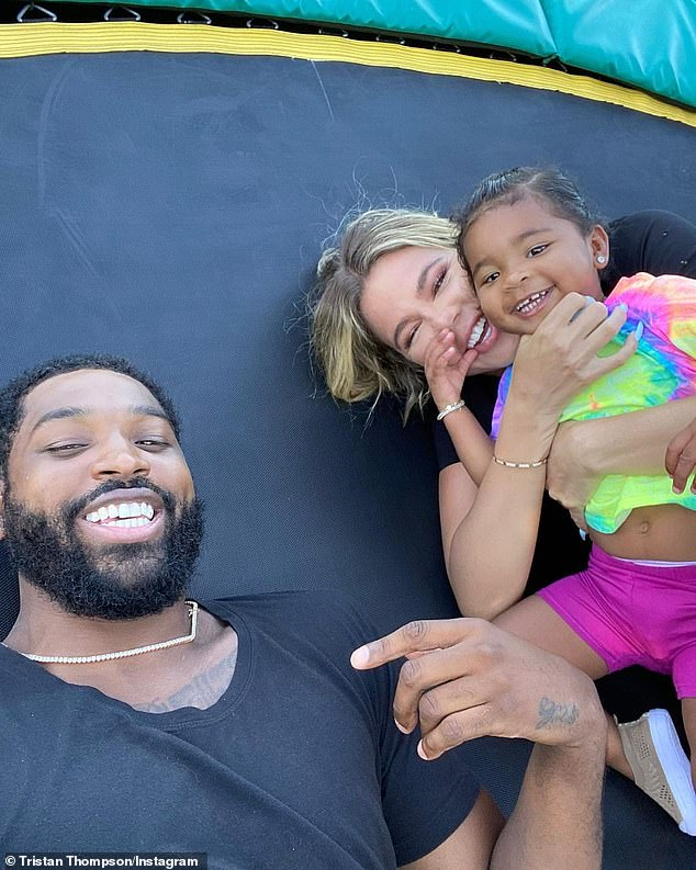 'Khloe and Tristan still want to give True a sibling': A source said of the 36-year-old reality star and 29-year-old professional athlete