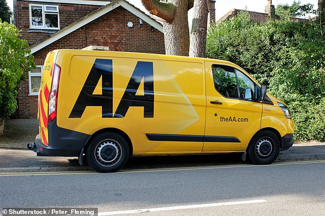 The AA said it was the third party who would be responsible for paying any repairs to the wall