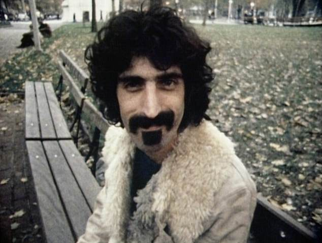 There is quite a lot dividing Billie Eilish and Frank Zappa (pictured). More than six decades between their respective births, gender, a fair amount of facial hair and, of course, the fact that she is very much alive and he is very much not