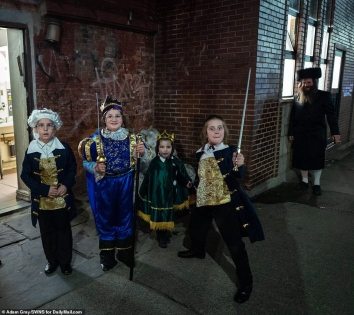 Pirates appeared to be a popular theme this year as kids appeared to relish the chance to dress more informally than normal