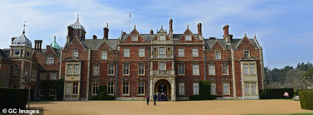Criticism:Last month, an accuracy row broke out as royal experts branding the project inaccurate as it's set on a weekend at Sandringham (pictured in 2015) which never happened