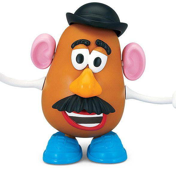 The toy regained popularity when Mr Potato Head became a central character in the 1995 Disney Pixar film Toy Story with comedian Don Rickles doing the voiceover.