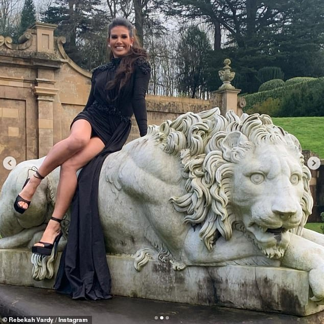Pictured: The exit comes after Coleen's 11th hour peace offer to Rebekah - the wife of Leicester City footballer Jamie Vardy - to settle their Wagatha Christie legal battle was exclusively revealed by MailOnline