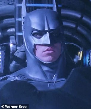 Notable role: Actor V pictured in 1995 Batman Forever