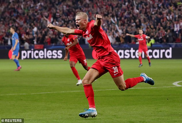 Haaland ultimately joined Red Bull Salzburg and scored over a goal a game for the Austrians