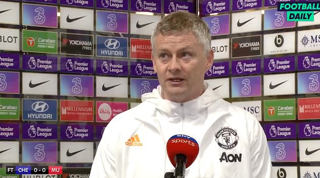 Ole Gunnar Solskjaer believes Chelsea's website attempted to influence referees