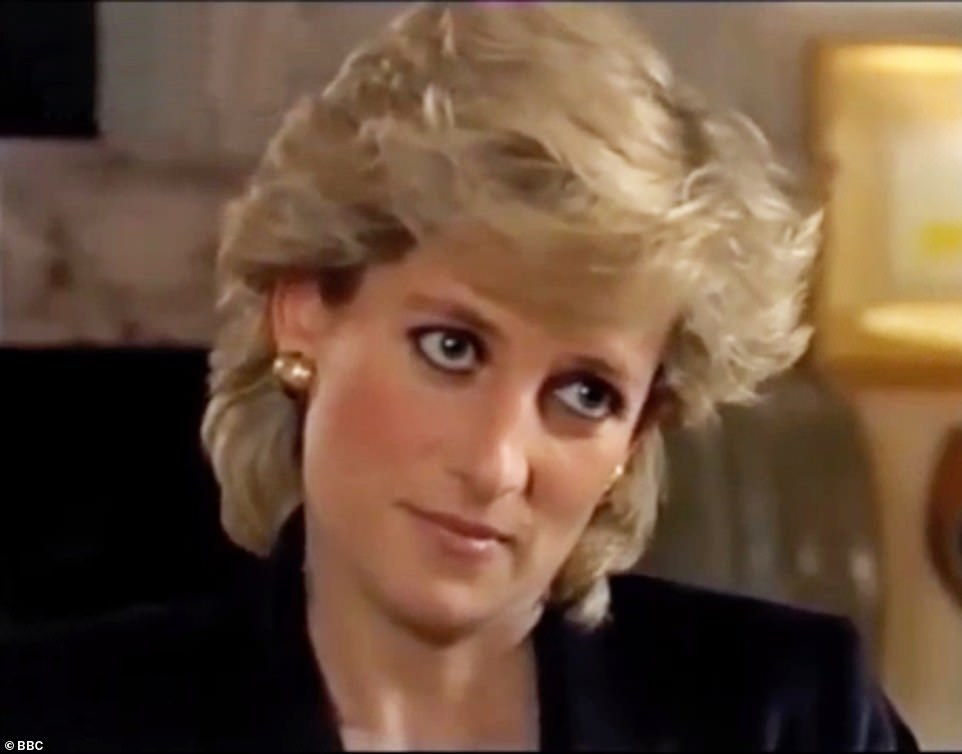 DIANA'S BOMBSHELL INTERVIEW: The princess speaks to Martin Bashir on Panorama in 1995