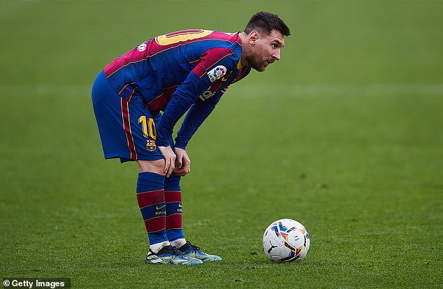 Messi fell out with the Barcelona hierarchy last summer after being denied his wish to leave