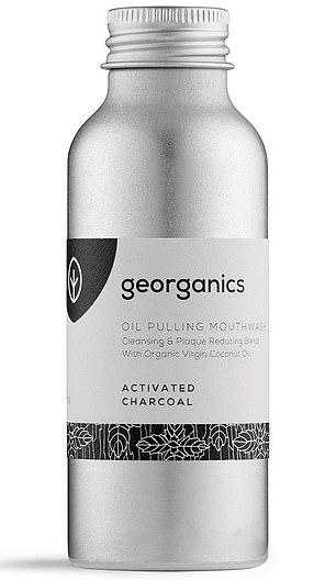 Georganics Oil Pulling Mouthwash activado carbón, £ 6.90 por 100ml, georganics.com