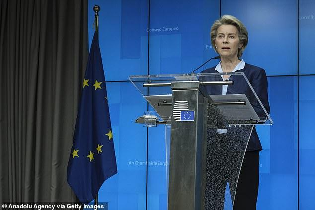 European Commission president Ursula von der Leyen revealed plans for a so-called 'Digital Green Pass'