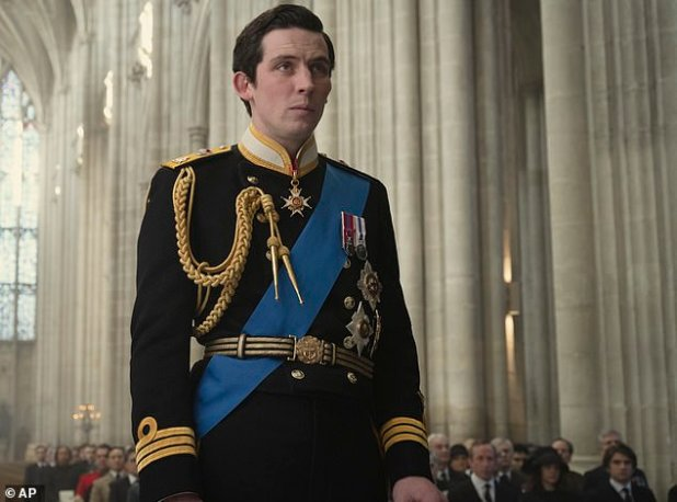 Thankful: Josh, who plays his father, Prince Charles (pictured), replied, 'I'm delighted.  I'm delighted that you see it '
