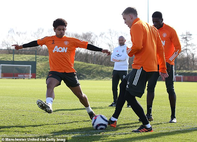 Solskjaer may look to his United youngsters, including Shola Shoretire, instead